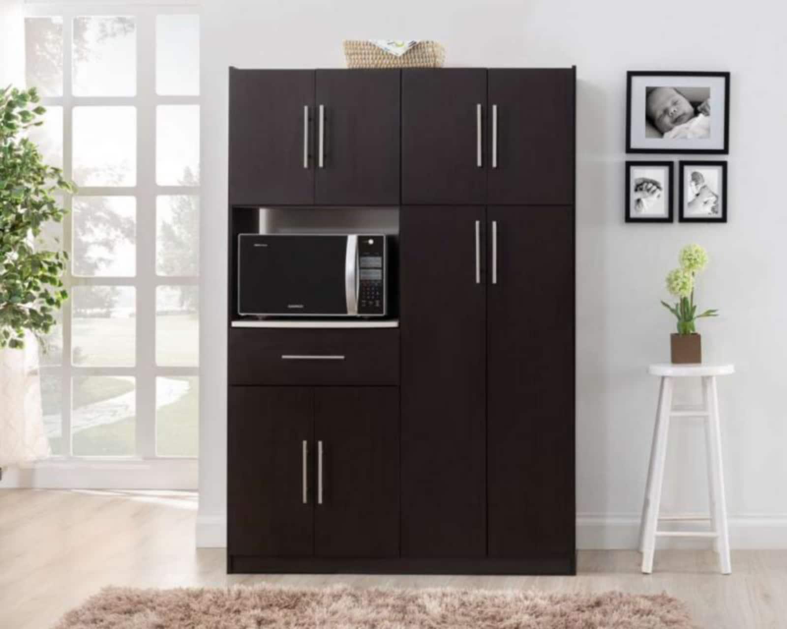 Alacena toscana con 8 puertas coppel for Puertas para muebles de cocina baratas