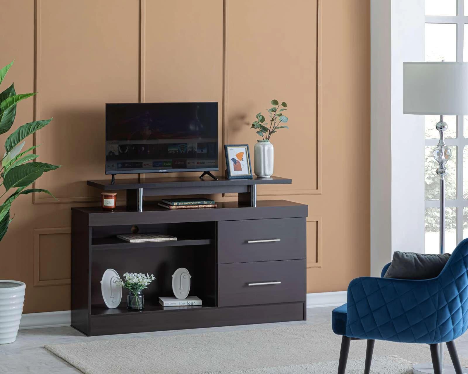 Mueble para ropa coppel for Mueble que esconde la tv