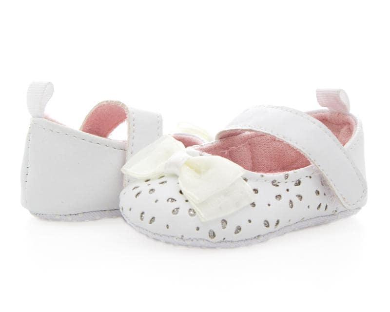 678ed5ff105ca Zapatos Baby Colors Blancos